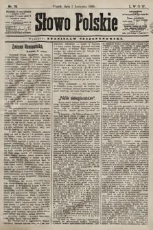 Słowo Polskie. 1898, nr78