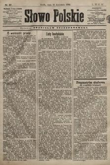 Słowo Polskie. 1898, nr87
