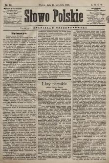 Słowo Polskie. 1898, nr89