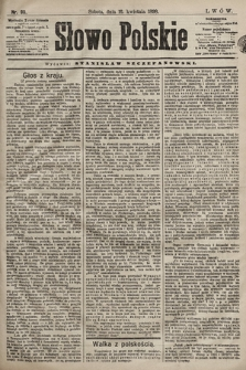 Słowo Polskie. 1898, nr90