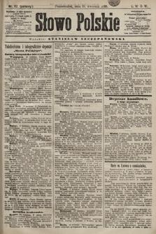 Słowo Polskie. 1898, nr92 (poranny)