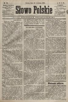 Słowo Polskie. 1898, nr96