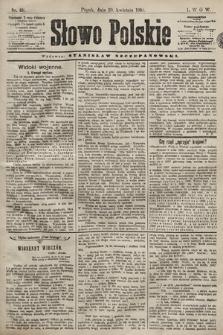 Słowo Polskie. 1898, nr101