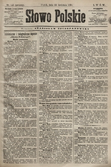 Słowo Polskie. 1898, nr102 (poranny)