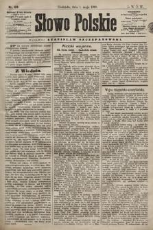Słowo Polskie. 1898, nr103