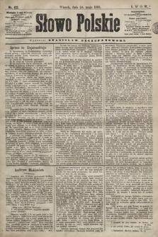 Słowo Polskie. 1898, nr122
