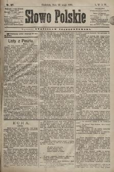 Słowo Polskie. 1898, nr127