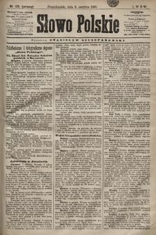 Słowo Polskie. 1898, nr133 (poranny)