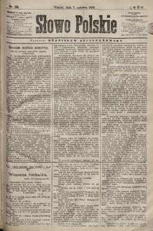 Słowo Polskie. 1898, nr133