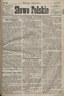 Słowo Polskie. 1898, nr134