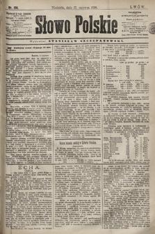 Słowo Polskie. 1898, nr138