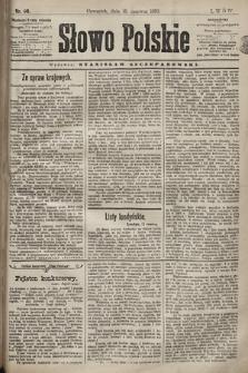 Słowo Polskie. 1898, nr141