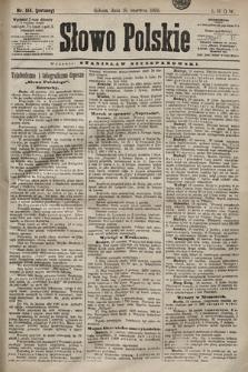 Słowo Polskie. 1898, nr144 (poranny)
