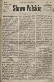 Słowo Polskie. 1898, nr146