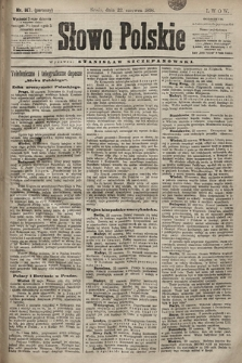 Słowo Polskie. 1898, nr147 (poranny)