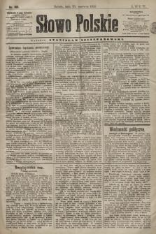 Słowo Polskie. 1898, nr149