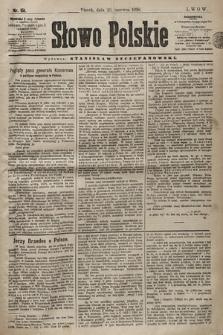Słowo Polskie. 1898, nr151