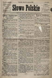 Słowo Polskie. 1898, nr154 (poranny)