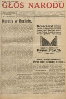 Głos Narodu. 1932, nr9