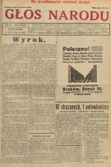 Głos Narodu. 1932, nr13