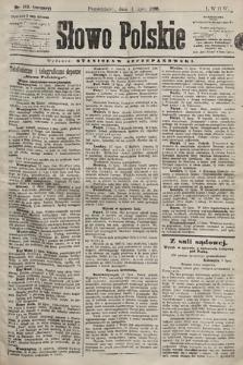 Słowo Polskie. 1898, nr163 (poranny)