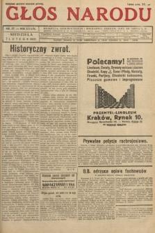 Głos Narodu. 1932, nr37