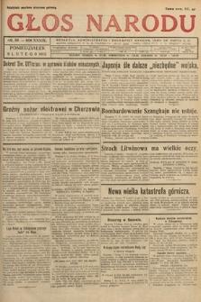Głos Narodu. 1932, nr38