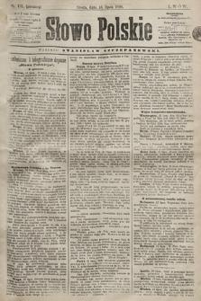 Słowo Polskie. 1898, nr165 (poranny)