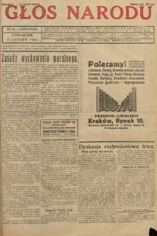 Głos Narodu. 1932, nr41