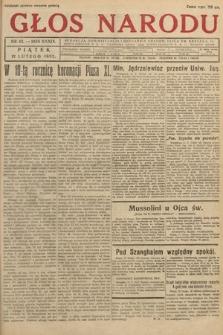 Głos Narodu. 1932, nr42