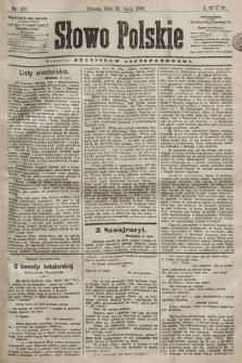 Słowo Polskie. 1898, nr167 (poranny)
