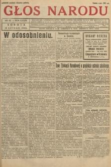 Głos Narodu. 1932, nr43