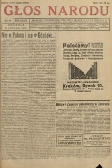 Głos Narodu. 1932, nr44