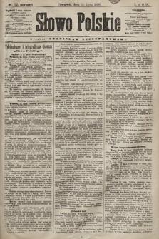 Słowo Polskie. 1898, nr172 (poranny)