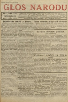 Głos Narodu. 1932, nr52