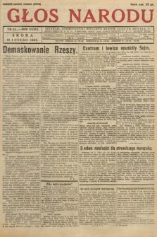 Głos Narodu. 1932, nr54