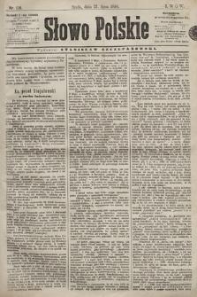 Słowo Polskie. 1898, nr176