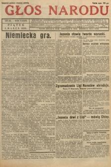 Głos Narodu. 1932, nr63