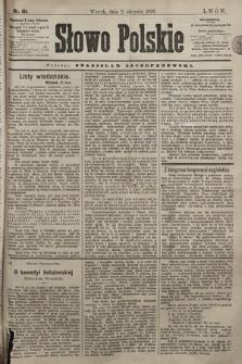 Słowo Polskie. 1898, nr181