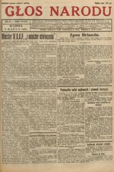 Głos Narodu. 1932, nr67