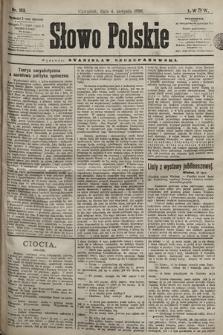 Słowo Polskie. 1898, nr183