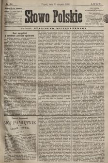 Słowo Polskie. 1898, nr184