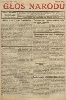 Głos Narodu. 1932, nr73