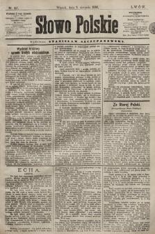 Słowo Polskie. 1898, nr187