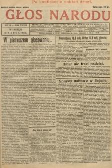 Głos Narodu. 1932, nr74