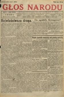 Głos Narodu. 1932, nr75