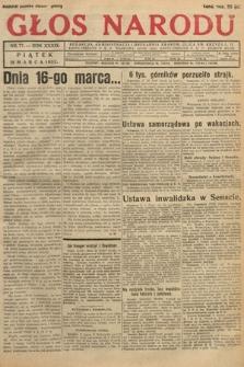 Głos Narodu. 1932, nr77