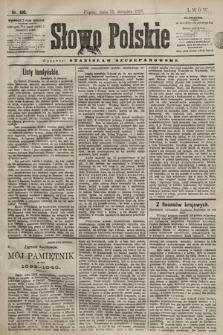 Słowo Polskie. 1898, nr190