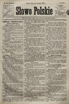 Słowo Polskie. 1898, nr191 (poranny)