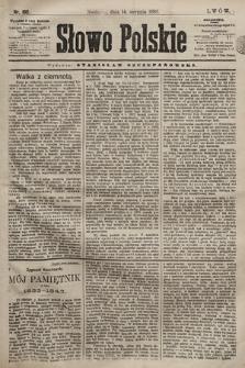 Słowo Polskie. 1898, nr192